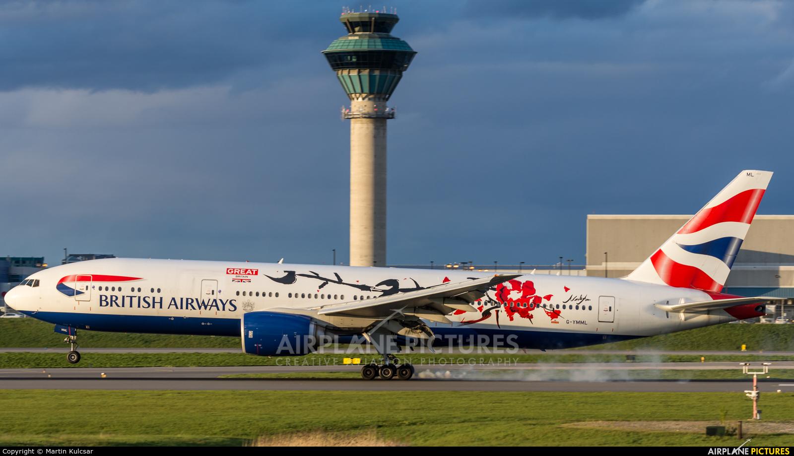 British Airways G-YMML aircraft at Toronto - Pearson Intl, ON