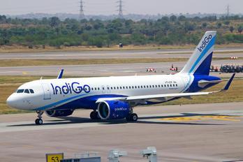 VT-ITF - IndiGo Airbus A320 NEO