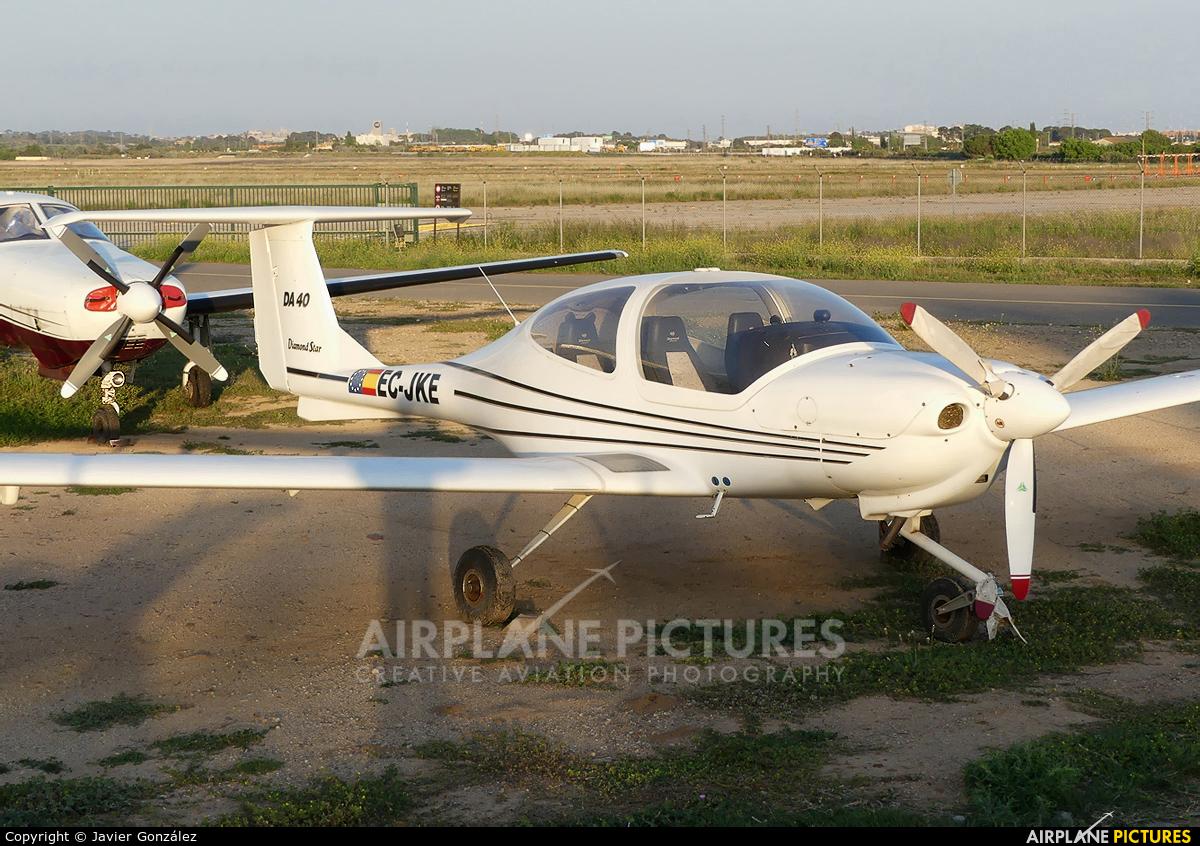 Private EC-JKE aircraft at Reus