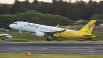 JA07VA - Vanilla Air Airbus A320 aircraft
