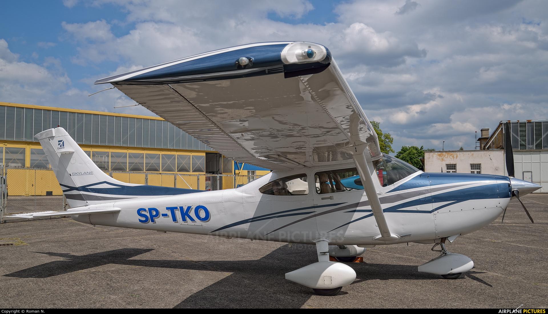 Private SP-TKO aircraft at Bydgoszcz - Szwederowo