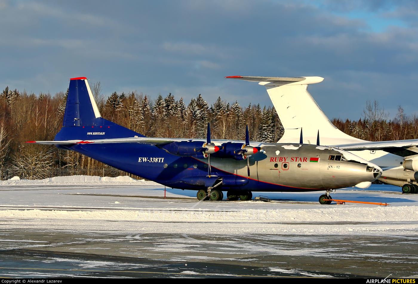 Ruby Star Air Enterprise EW-338TI aircraft at Minsk Intl