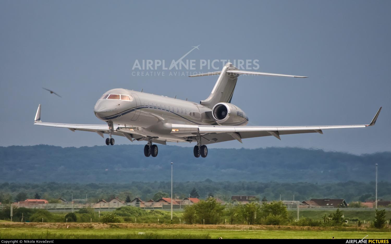 Private N595E aircraft at Zagreb