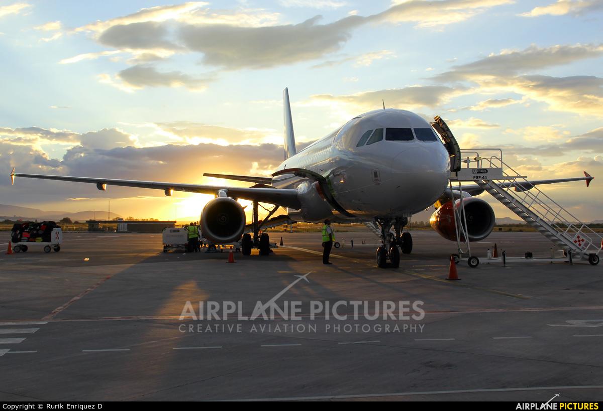 VivaAerobus EI-EUA aircraft at Miguel Hidalgo y Costilla Intl