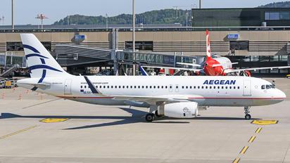 SX-DNE - Aegean Airlines Airbus A320