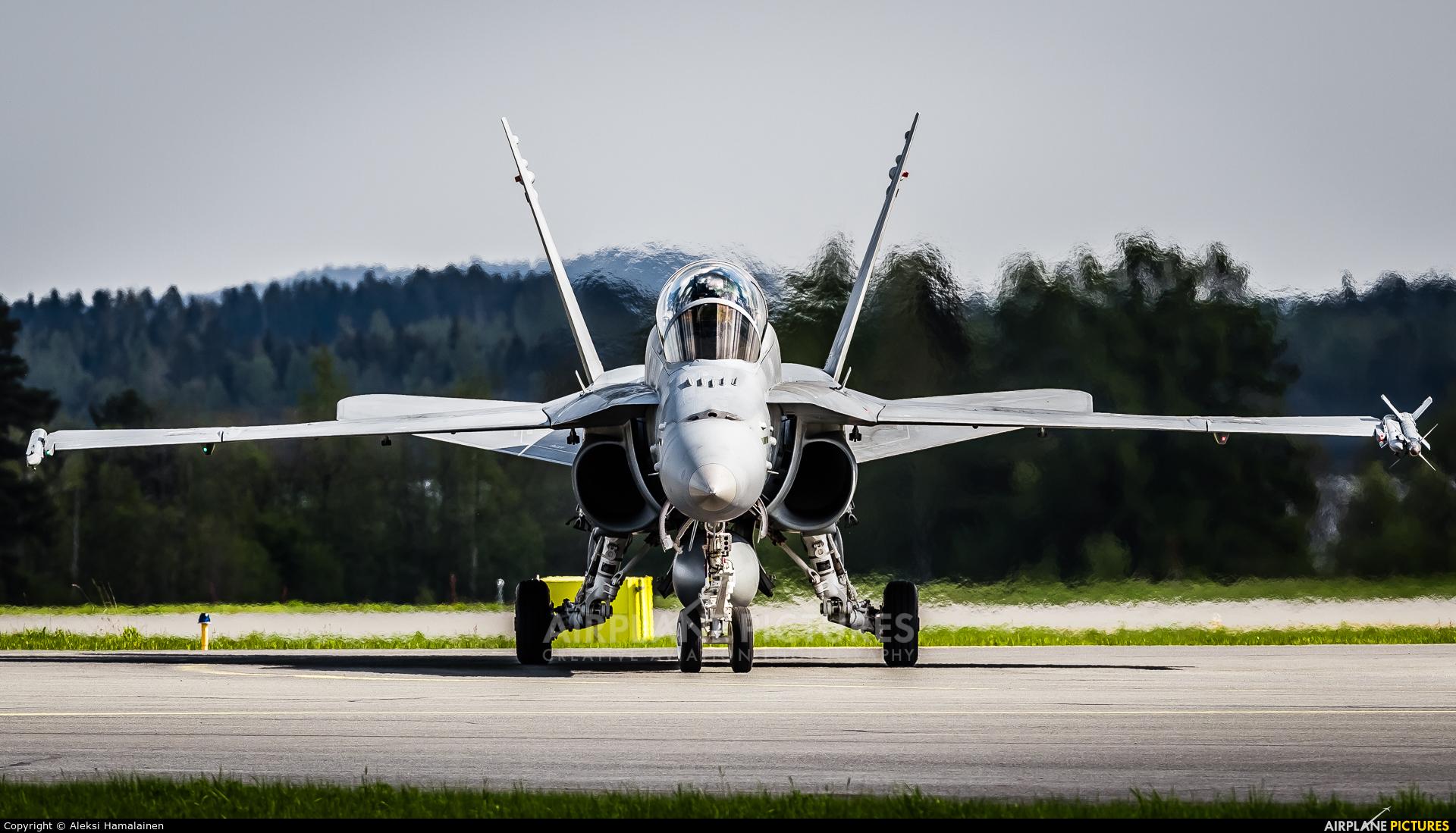 Finland - Air Force HN-467 aircraft at Kuopio Rissala