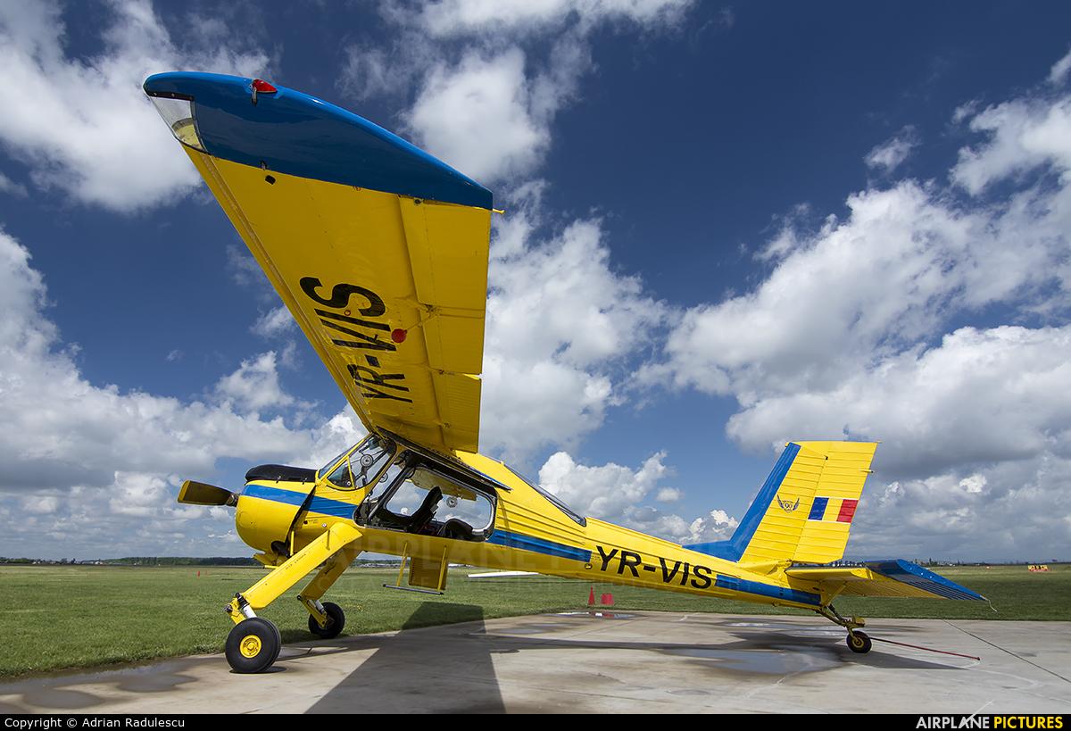 Romanian Airclub YR-VIS aircraft at Ploiesti - Strejnic