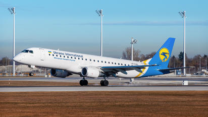 UR-EME - Ukraine International Airlines Embraer ERJ-190 (190-100)