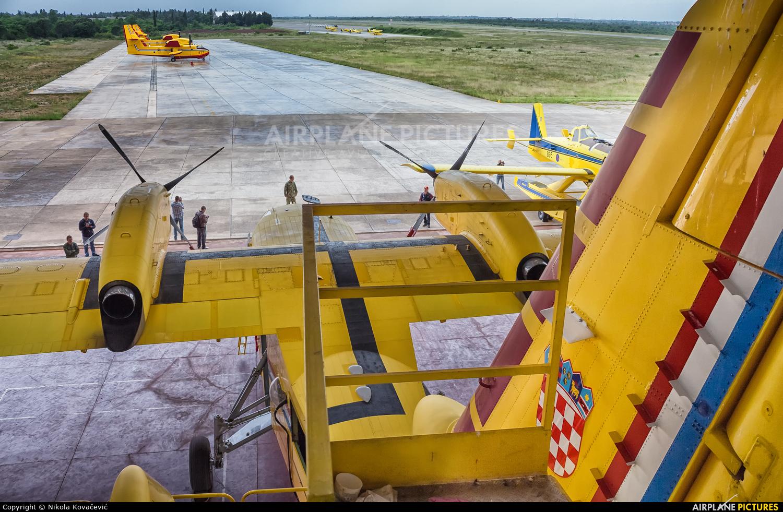 Croatia - Air Force 855 aircraft at Zadar