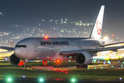 JA0100 - JAL - Japan Airlines Boeing 777-200 aircraft