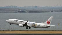 JA318J - JAL - Japan Airlines Boeing 737-800 aircraft