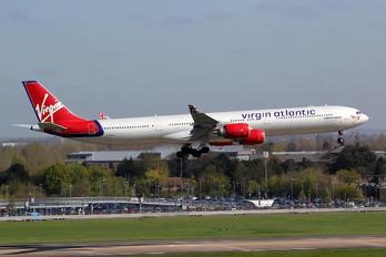 G-VBLU - Virgin Atlantic Airbus A340-600