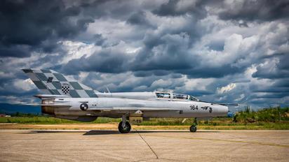 164 - Croatia - Air Force Mikoyan-Gurevich MiG-21UM