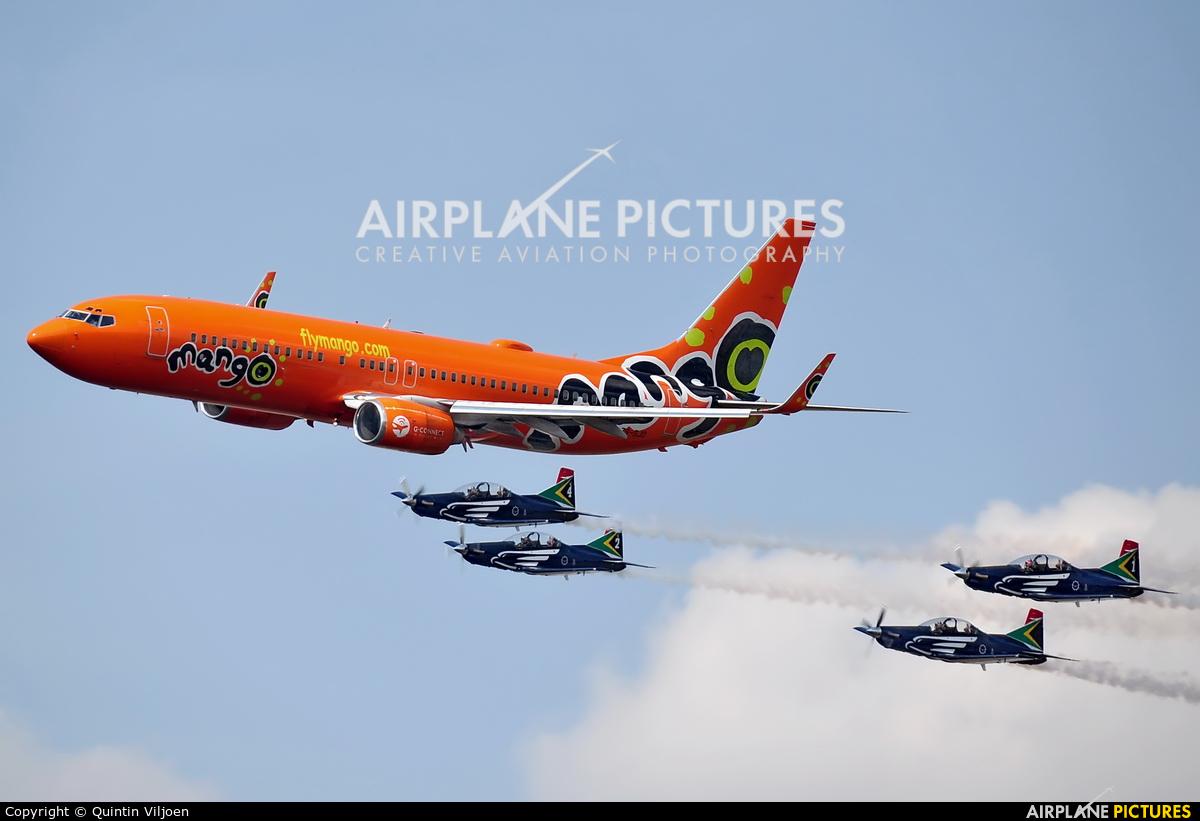 South African Airways ZS-SJD aircraft at Swartkops