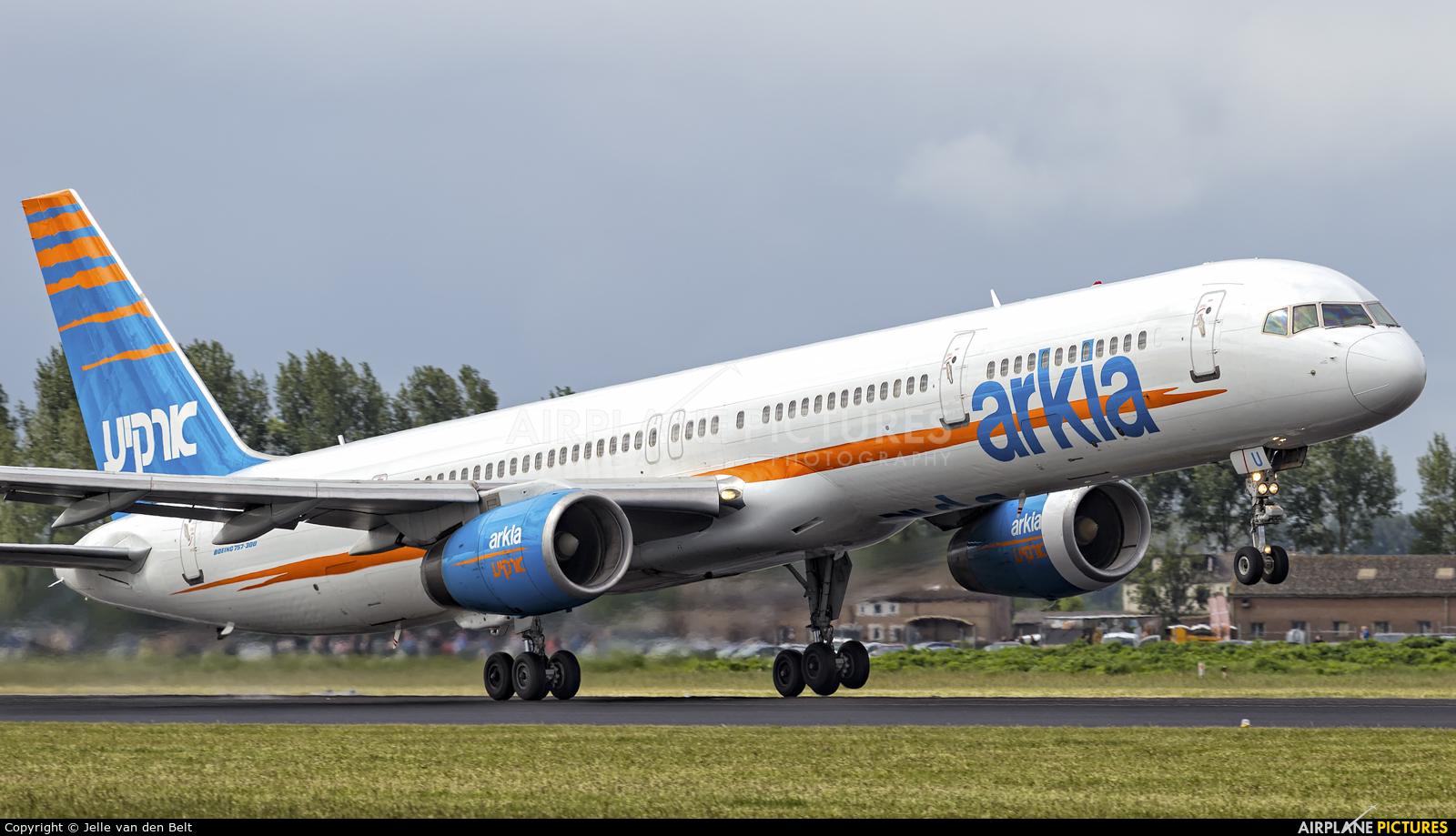 Arkia 4X-BAU aircraft at Amsterdam - Schiphol