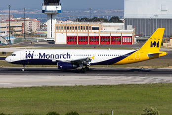 G-ZBAI - Monarch Airlines Airbus A321