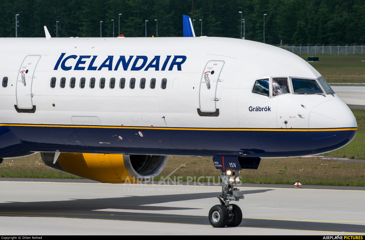 Icelandair TF-ISV aircraft at Frankfurt
