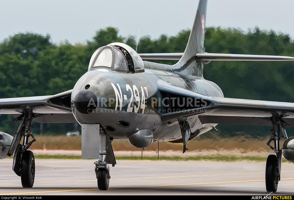 Dutch Hawker Hunter Foundation N-294 aircraft at Uden - Volkel
