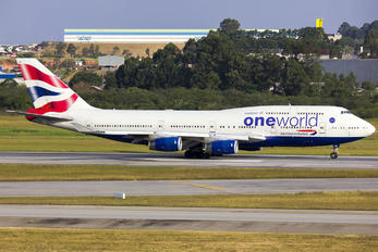 G-CIVK - British Airways Boeing 747-400