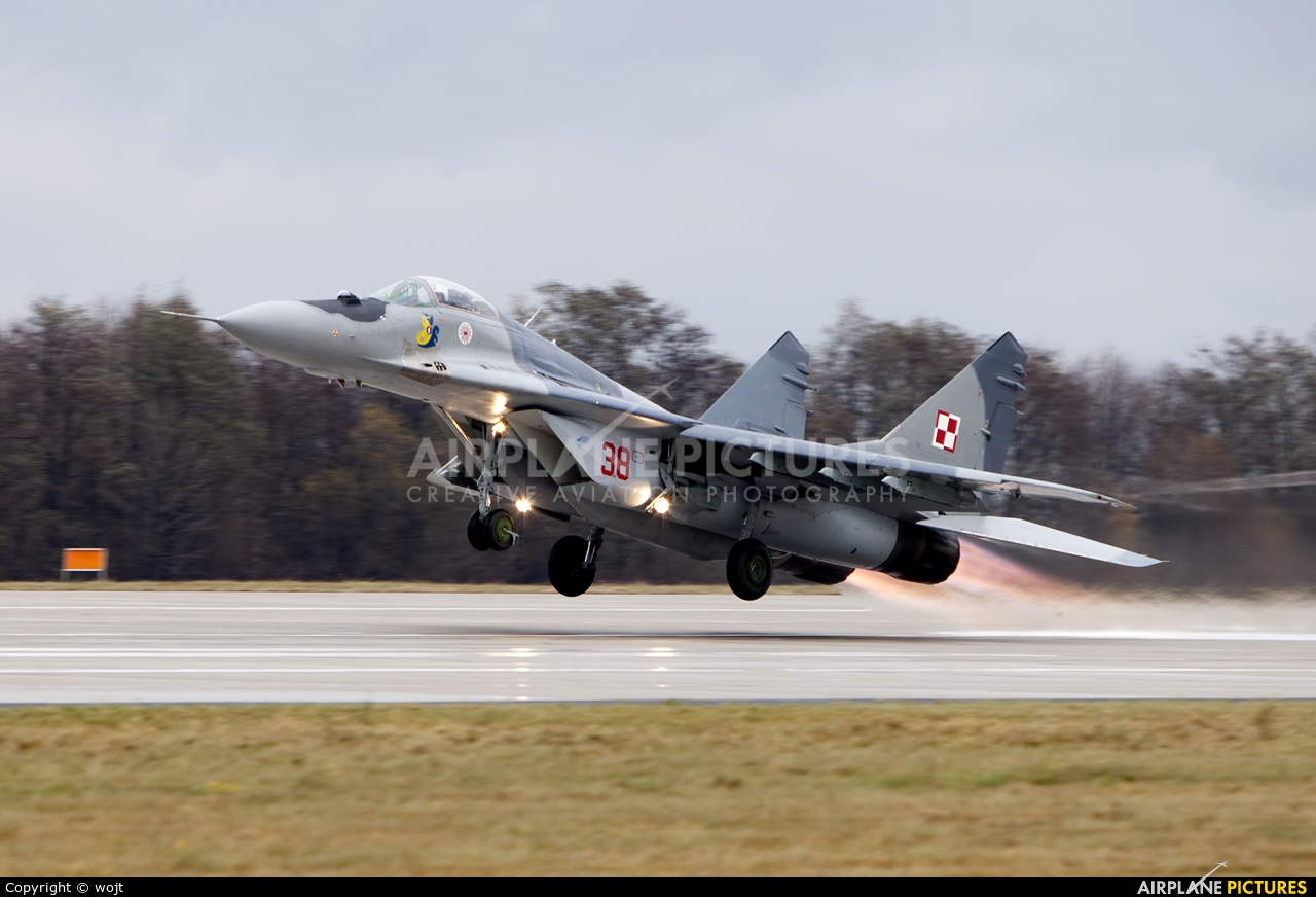 Poland - Air Force 38 aircraft at Mińsk Mazowiecki