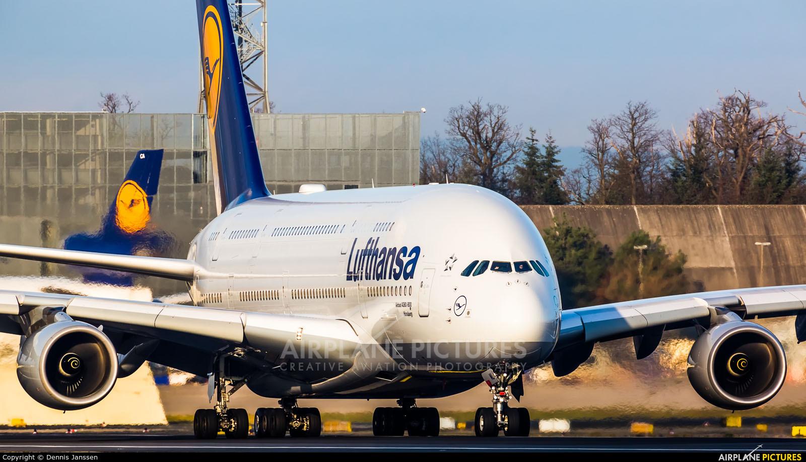 Lufthansa D-AIML aircraft at Frankfurt
