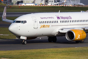 OY-JTY - Monarch Airlines Boeing 737-700