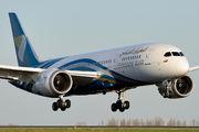 A4O-SB - Oman Air Boeing 787-8 Dreamliner aircraft