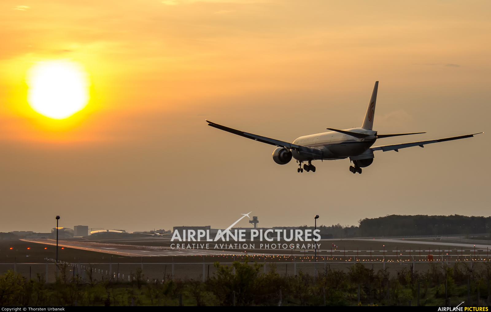 Air China B-2046 aircraft at Frankfurt