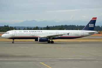 N534UW - US Airways Airbus A321