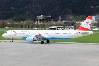 OE-LBD - Austrian Airlines/Arrows/Tyrolean Airbus A321