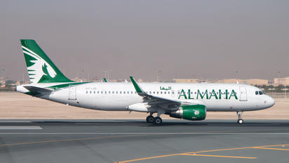 A7-LAB - Al Maha Airways Airbus A320