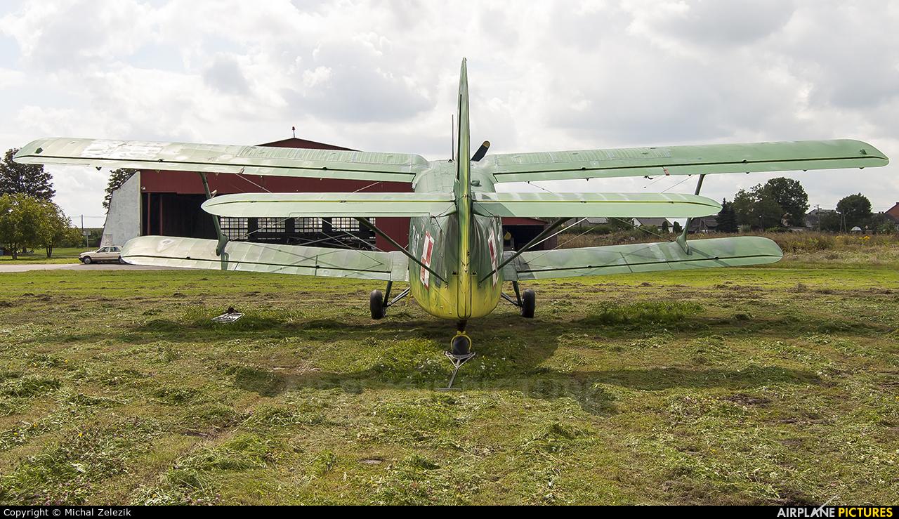 Museum of Polish Aviation SP-MLP aircraft at Kraków - Pobiednik Wielki