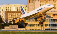 - - Air France Aerospatiale-BAC Concorde aircraft