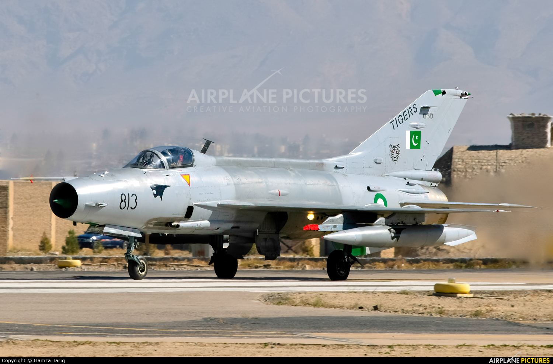 Pakistan - Air Force 01-813 aircraft at PAF Base samungali