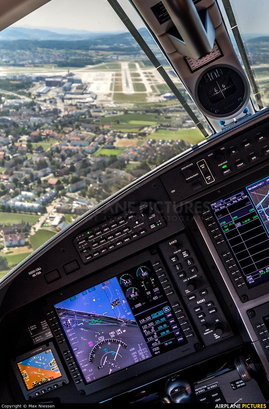 Pilatus HB-FWA aircraft at Zurich