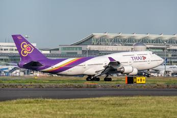 HS-TGY - Thai Airways Boeing 747-400