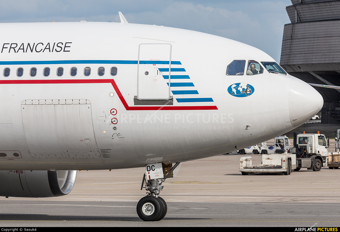 France - Air Force F-RADC aircraft at Paris - Charles de Gaulle
