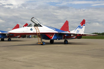 "31 - Russia - Air Force ""Strizhi"" Mikoyan-Gurevich MiG-29"