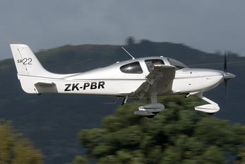 ZK-PBR - Private Cirrus SR22