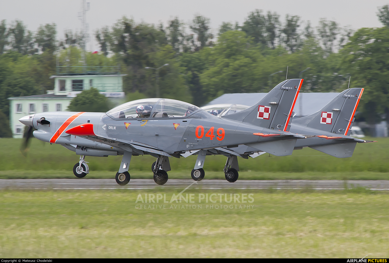 "Poland - Air Force ""Orlik Acrobatic Group"" 049 aircraft at Radom - Sadków"