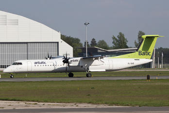 YL-BAE - Air Baltic de Havilland Canada DHC-8-400Q / Bombardier Q400