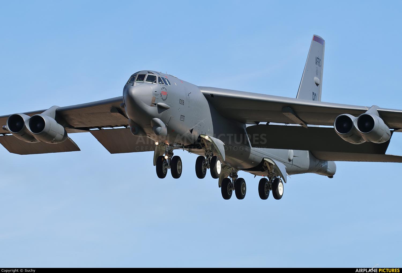USA - Air Force 61-0008 aircraft at Ostrava Mošnov