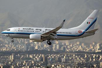 K5012 - India - Air Force Boeing 737-700 BBJ