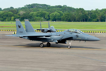 8321 - Singapore - Air Force Boeing F-15SG Strike Eagle