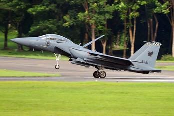8321 - Singapore - Air Force Boeing F-15SG Strike Eagle
