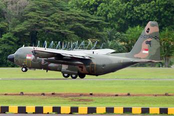 730 - Singapore - Air Force Lockheed C-130B Hercules