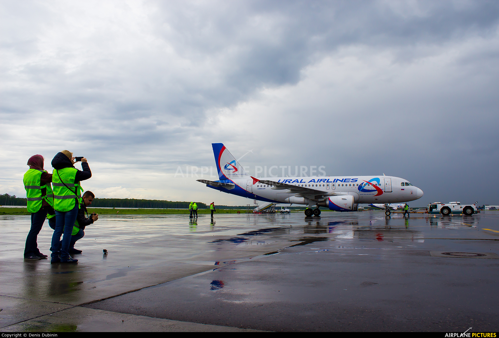 Ural Airlines VQ-BTY aircraft at Moscow - Domodedovo