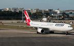 QANTAS Airbus A330-300 VH-QPD at Singapore - Changi airport