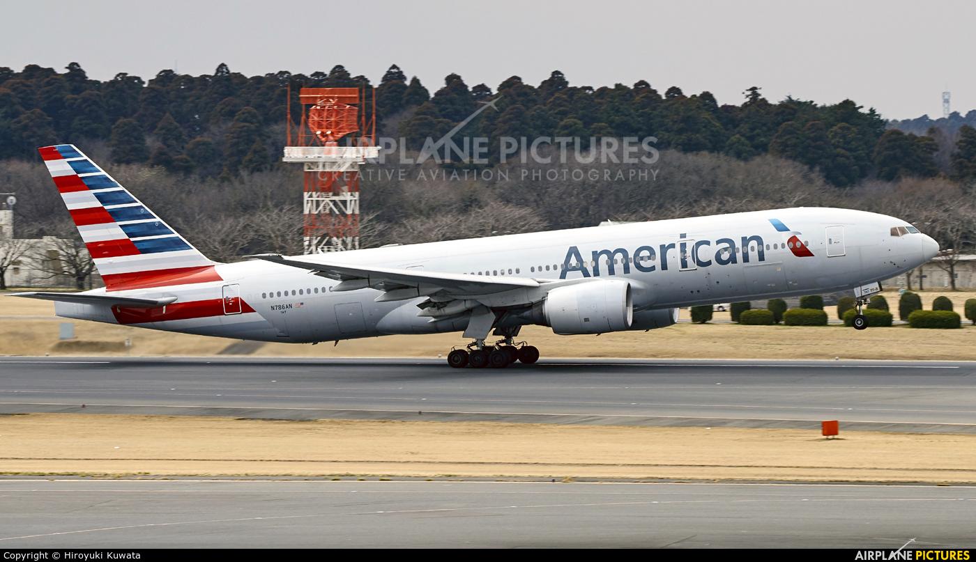 American Airlines N786AN aircraft at Tokyo - Narita Intl