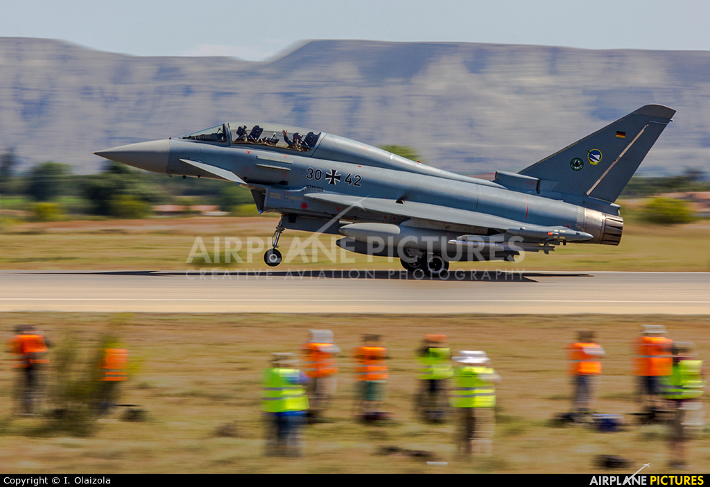 Germany - Air Force 3042 aircraft at Zaragoza
